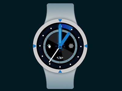 Vector Watch Two watch ui watch vector