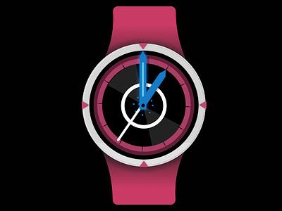 Vector Watch Three illustration smartwatch ui watch ui watch
