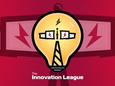 Innovation League Logo branding logo