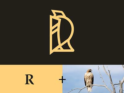 Personal Logo Exploration branding rh hawk