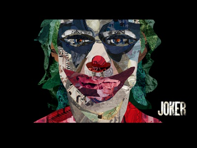 Joker art design collection