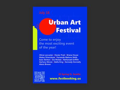 Urban Art Festival poster