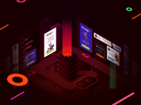 Presentation of web-banners