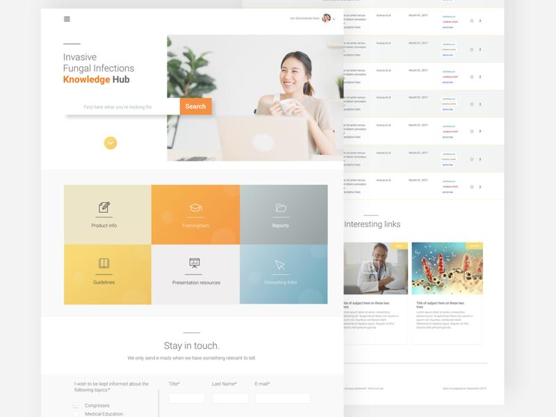 Knowledge base webdesign overview data modular design blocks content knowledge platform