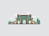 Akbar Masjid Gate