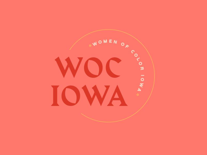 WOC Iowa branding logo