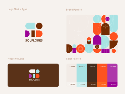 Personal Brand elements flat palette graphics graphicdesign negative space logo logodesign design elements logo identity branding and identity branding design branding brand identity
