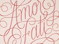 Amor Fati Postcards