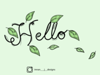 Typography Hello series #2