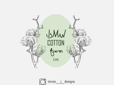 Cotton farm logo
