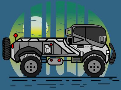 ArmOR FAntasy truck.