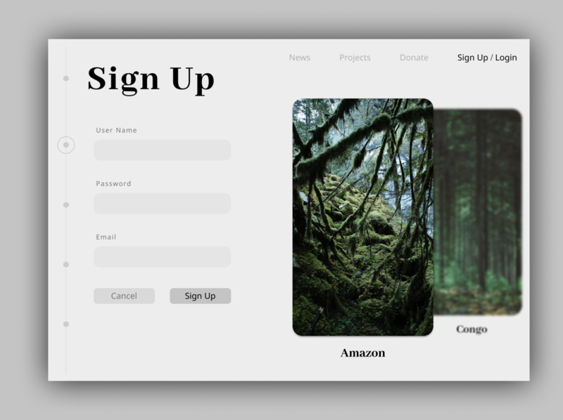 Day 01 || Daily UI Sign Up