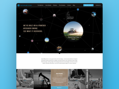 Sparkbeyond Website product interaction design animation branding responsive mobile web ui ux