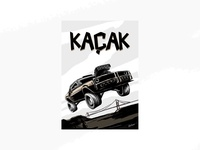 Kaçak - Comic Books Illustration