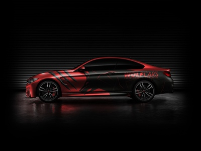 Wolf Cars Bmw M4 Wrap Design