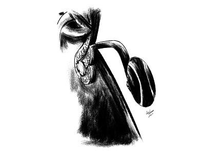 Divin Jewellery Glasses Illustration branding design drawing illustration illustrasyon istanbul diamond sketch glasses jewel jewellery