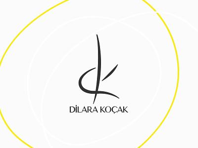 Dilara Koçak Logo Branding Design symbol icon symbol dilara koçak drawing logo branding design sketch istanbul