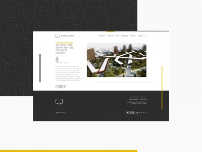 Hayalgücü Architecture Web Design ux branding design istanbul ui webapp web design website web