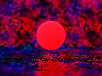 Red 03 3d design illustration
