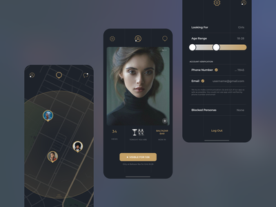 Right Now & Here Dating App datingapp dating design app ux ui