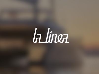 La Linea — Yacht logo yachtname branding la linea logo design logotype typography vector minimal logodesign logo yacht