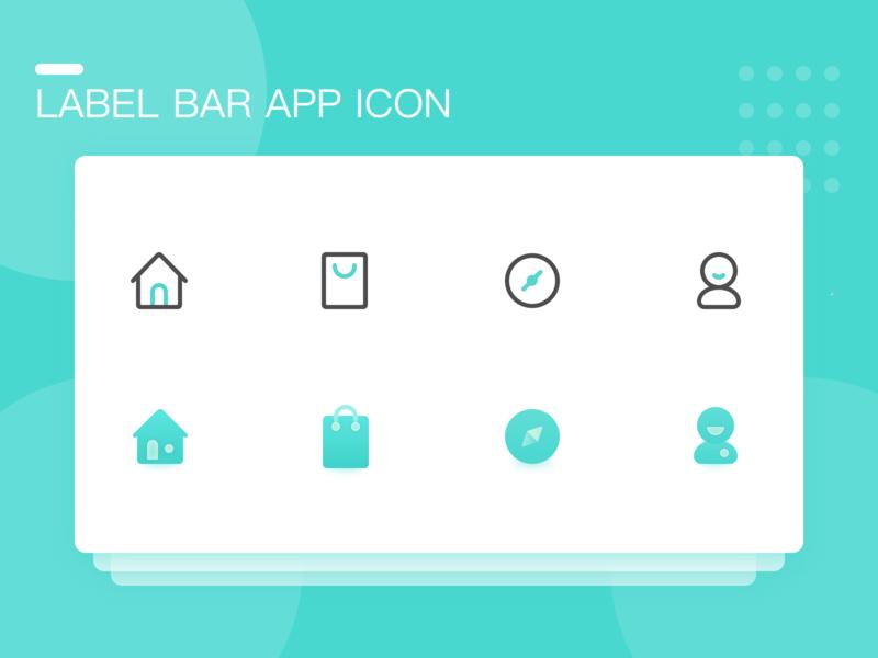 Label Bar Icon