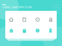 Label Bar Icon
