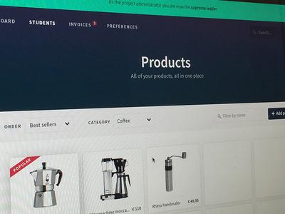 Novum products novum grid interface template ui admin