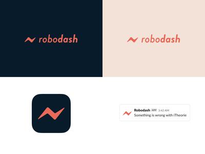 Robodash logo mockup mockup slack dashboard logo robodash