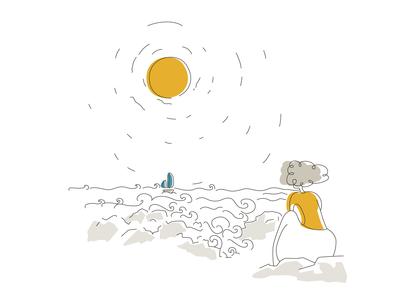 Winter - 01 - crashing waves