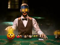 Poker Man For Halloween