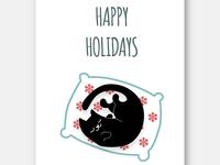 Catsmas Card 02 - Indy