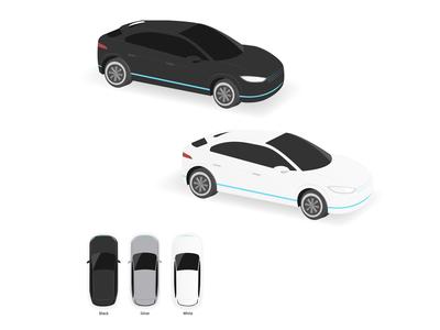 Isometric Car