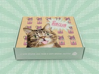 Lil Bub Pop Art Subscription Box