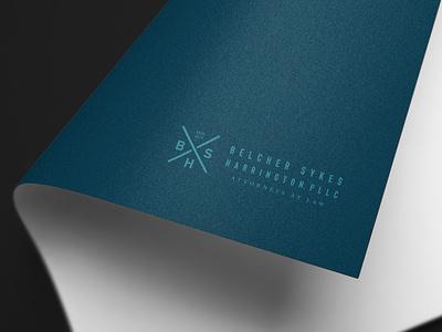 Belcher Sykes Harrington Brand lawfirm attorney lawyer branding agency nashville brand logo branding design