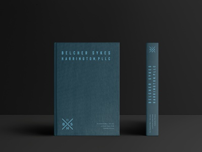Belcher Sykes Harrington Brand attorney  law lawyer book attorney mockup branding agency nashville brand logo branding design