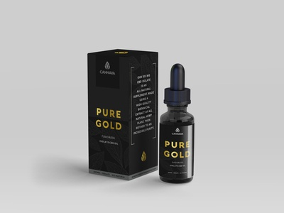 Cannava CBD Brand packaging tincture cbd oil cannabis cbd mockup branding agency nashville brand logo branding design