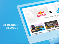 Cloud9 Website concept