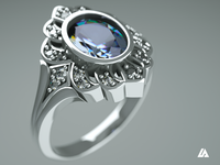 Jewellery photorealistic rendering