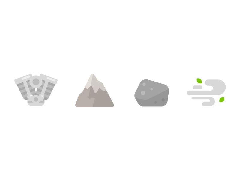 Gray color gray design illustration