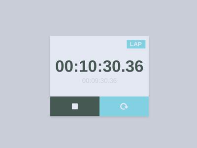 Stopwatch UI