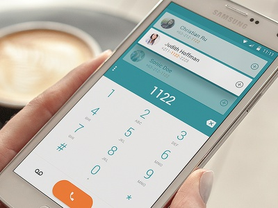 Elephone Dialler samsung incoming call phone call material design keypad android dialler phonebook search engine search cards debut
