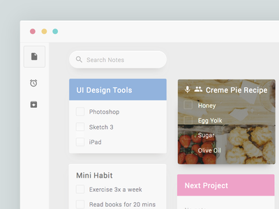 Google Keep google design ux ui