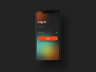 Login Exploration login dribbble ux ui