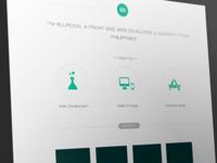 Bluroon Portfolio Site