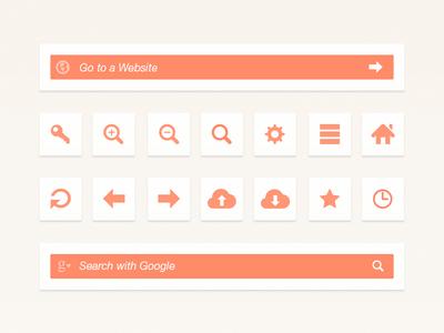 Web Browser UI Elements