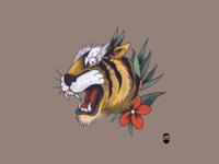 Tiger tradicional digital
