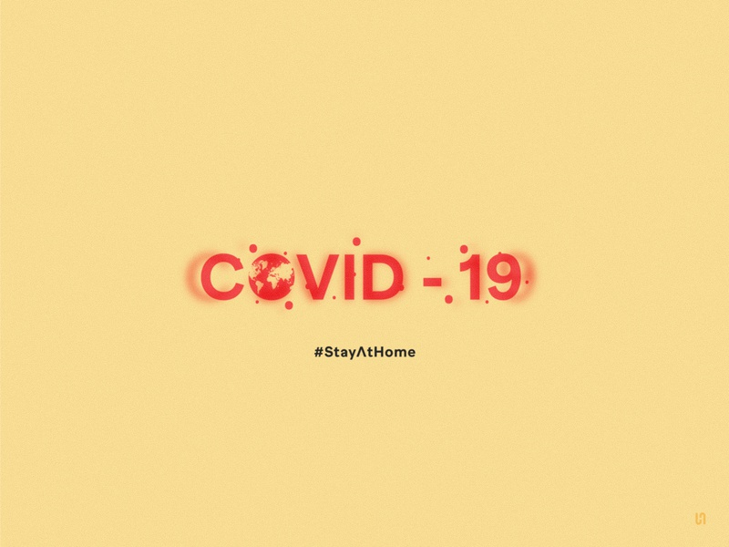 Covid 19- Stay At Home designgraphic branding logodesign colombia design art designer design covid19