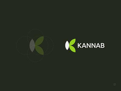 Logo - Kannab cannabis logo cannabis design cannabis designer minimalist logo logo design logotype logodesign logo design brand identity branding brand design brand
