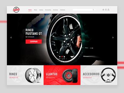 E-Commerce Site designer web uiuxdesign website ecommerce